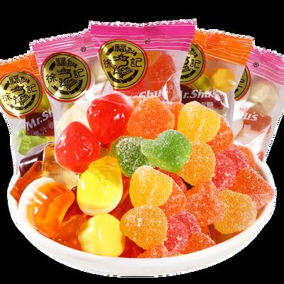 徐福记橡皮糖果汁软糖 散装软糖qq糖喜糖混合水果味混搭小零食