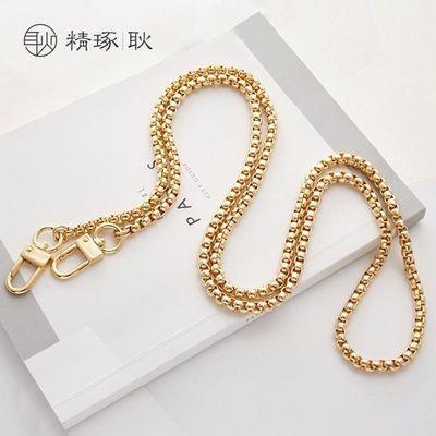 女包铜链高档包配件链条包带链金属肩带单买斜挎链金色可拆卸