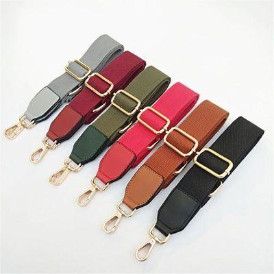 纯色帆布宽带配件斜挎包带加长肩带替换带棉布织带可调节百搭包带