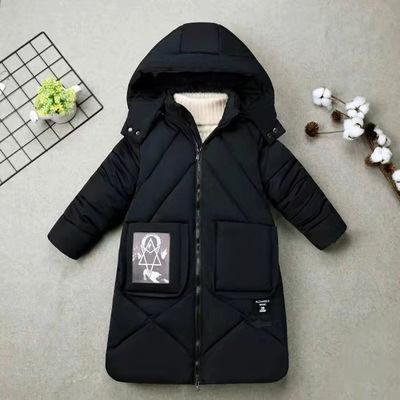 反季清仓童装女童棉衣冬装中长款儿童棉袄加厚冬季中大童棉服外套