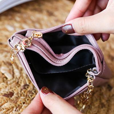 爆款真皮零钱包头层牛皮小钱包短款迷你硬币卡包女手拿软皮长款手