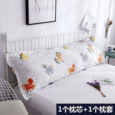 冲量双人枕头长枕芯1米12米u002F15u002F18m床情侣枕婚庆加长枕