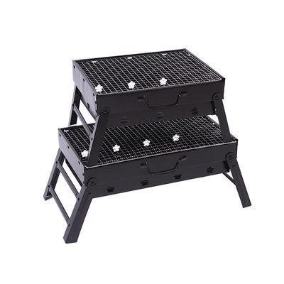 烧烤架户外木炭烧烤炉子家用便携BBQ加厚烤肉箱全套工具3一6人