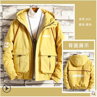 男士冬季外套2020新款棉袄工装面包服韩版潮流羽绒棉服男装棉衣男