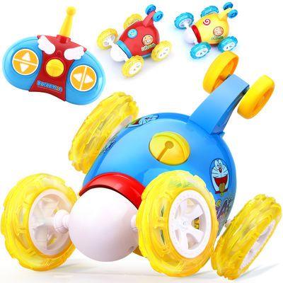 遥控车玩具充电成人翻滚特技车电动儿童翻斗车男孩可汽车益米