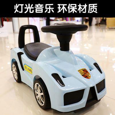 爆款法拉利多功能儿童扭扭车1-3岁宝宝滑行车四轮带音乐溜溜车玩