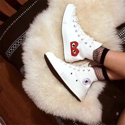 1970s联名爱心大眼 三次硫化底 高低帮男女款板鞋帆布鞋