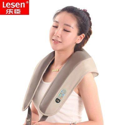 乐臣多功能捶打按摩器颈肩乐按摩披肩颈部肩部腰部捶背敲敲乐