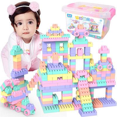 儿童积木益智拼装玩具1-3-6周岁男孩子5塑料创意拼插2女宝宝积木8