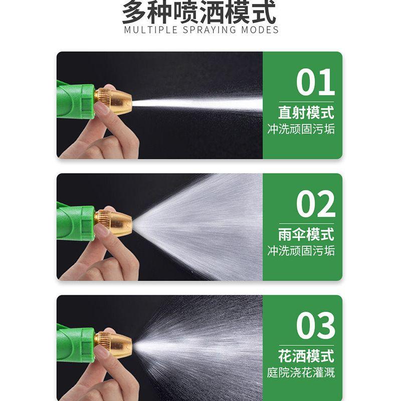 便携式多功能水枪防爆水管家用高压洗车水枪浇花清洗工具洗车神器的细节图片8