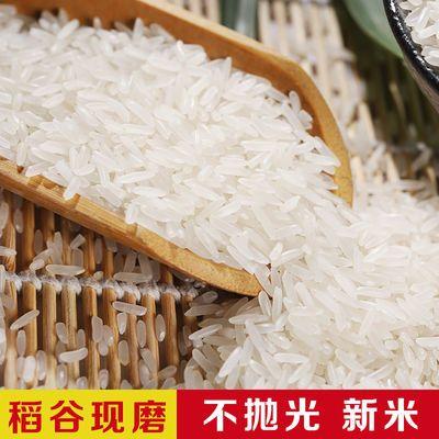 【新大米10斤】生态泉水米 晚稻米无抛光现磨农家自产5kg长粒香米