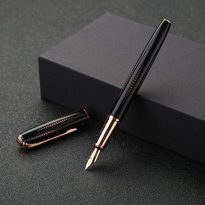 新款礼盒套装毕加索916黑系列钢笔成人练字墨水笔商务男女签名笔