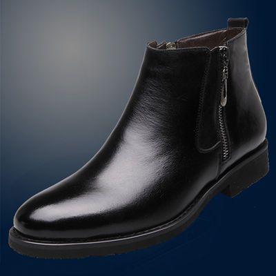 2020新款马丁靴男英伦真皮工装靴高帮雪地靴冬季加绒棉鞋男士皮靴