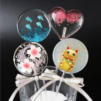 樱花星空海洋之心圣诞节棒棒糖果高颜值零食少女心送女友礼物礼盒