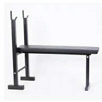 杠铃平推架 举重床 卧推架 平推架 简易举重床 卧推杠铃健身器材
