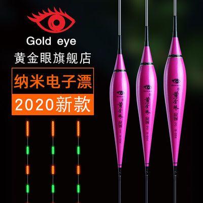 2020年黄金眼纳米电子鱼漂醒目夜光漂夜钓浮标黄金眼电子漂H