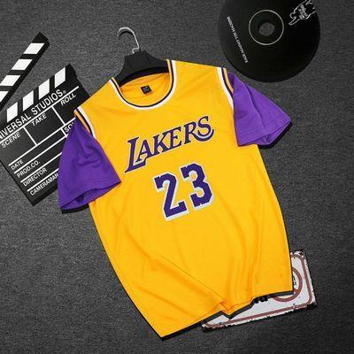 假两件篮球服男女套装短袖科比库里詹姆斯球衣运动服套装定制透气