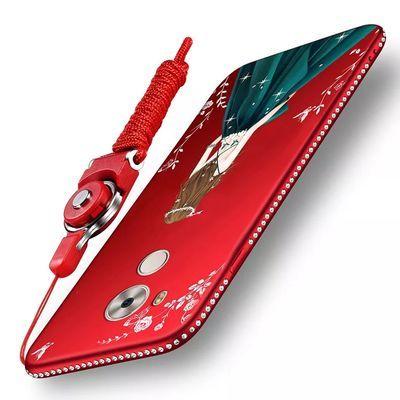 华为Mate8手机壳NXT-AL10保护硅胶套mt8防摔全包m8磨砂软壳女款潮