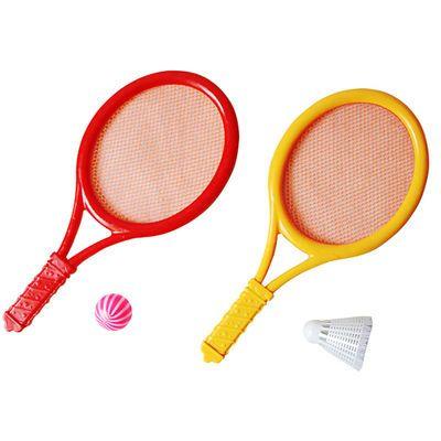 儿童羽毛球拍玩具宝宝网球拍小男女孩子室内运动体育公园广场玩具
