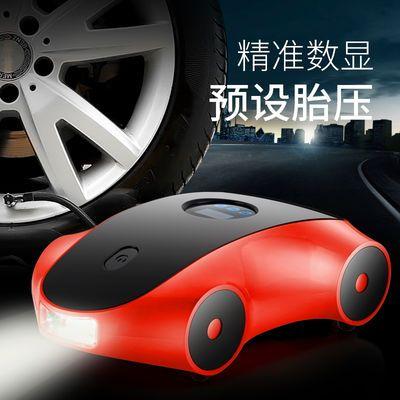 车载充气泵小轿车便携式汽车电动轮胎打气泵12v加气泵车用打气筒