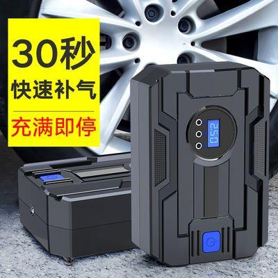 车载充气泵小轿车12v便携式双缸电动打气筒汽车加气泵数显 大功率