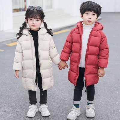 反季清仓儿童羽绒棉服中长款男女童棉衣小孩棉袄宝宝加厚童装外套