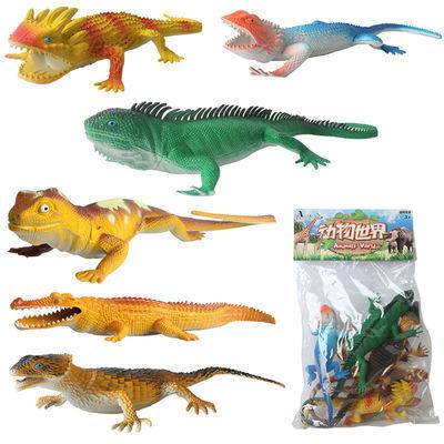 2020特价仿真塑胶十二生肖小动物模型静态早教恐龙动物模型儿童玩