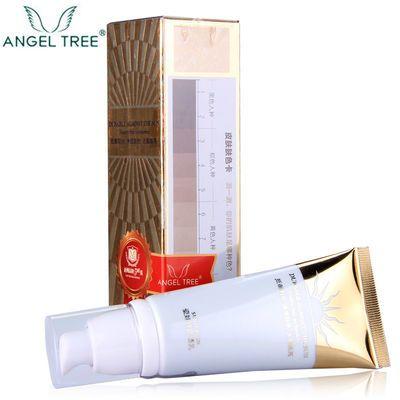 安植ANGEL TREE 瓷娃娃防晒乳(白叁度)白三度防晒60g安植化妆品正