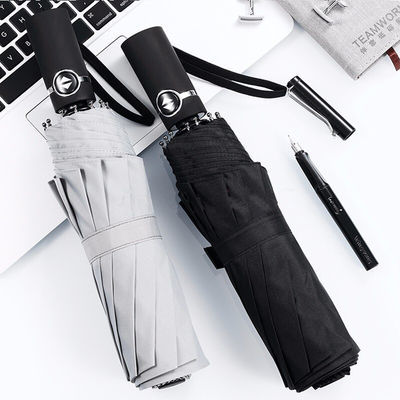 【好质量】全自动折叠雨伞大自动开收商务双人加固户外雨具男女士