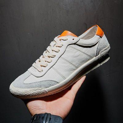 2020男鞋春季新款鞋子男士休闲鞋百搭潮流小白鞋男欧洲站复古板鞋