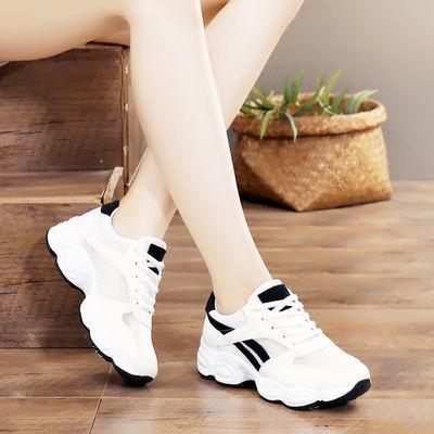 鞋子女夏季新款透气运动鞋女网面休闲鞋小白鞋女学生跑步旅游女鞋