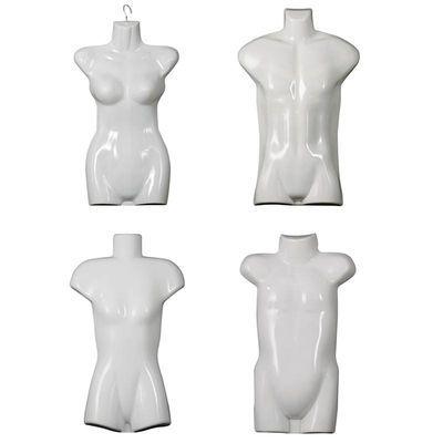 假人服装模特道具男女半身儿童泳衣展示模特衣架塑料模特片悬挂
