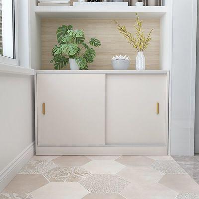 柜子定做阳台柜飘窗柜防晒家用杂物柜地柜储物柜多功能收纳矮柜
