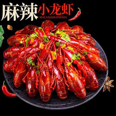 湖北麻辣小龙虾熟食香辣味十三香鲜活烧制真空包装自热即食包邮