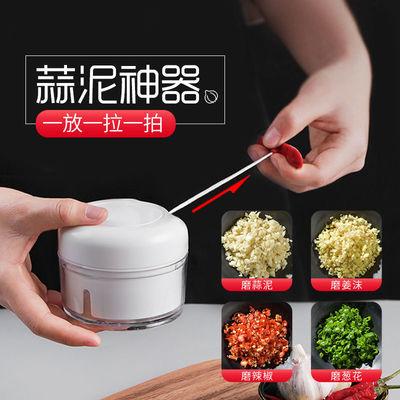 厨房蒜泥神器手动打蒜器宝宝辅食蒜蓉姜末小型绞蒜器厨房小工具