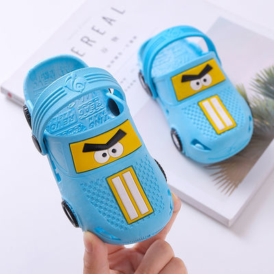 儿童拖鞋夏季新款宝宝卡通防滑男童凉鞋小孩包头凉拖鞋女童洞洞鞋