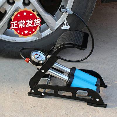 汽车脚踩充气泵电瓶车自行车摩托车三轮车打气筒车载充气筒