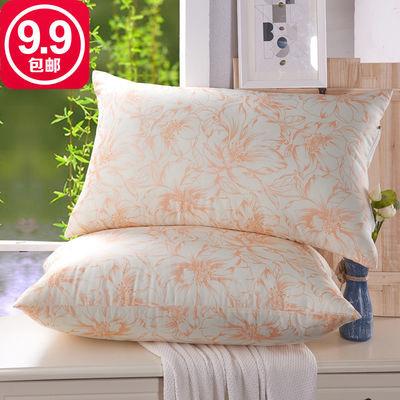 【舒耐家纺】正品枕头枕芯 成人单人学生枕一棉羽丝绒舒适柔软枕