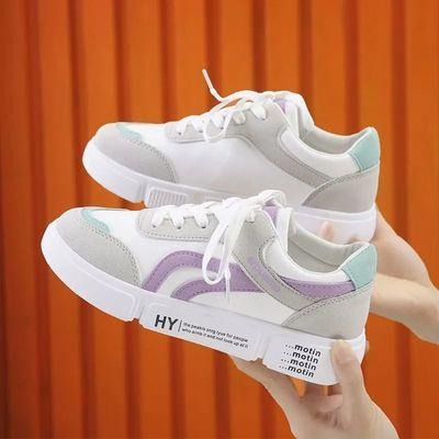 小白鞋女鞋子女春季新款平底运动鞋女学生韩版百搭休闲单鞋板鞋潮