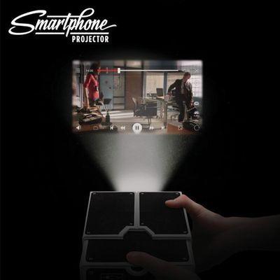 投影仪手机家用高清投墙迷你投屏器一体机家庭影院小型无线投影机