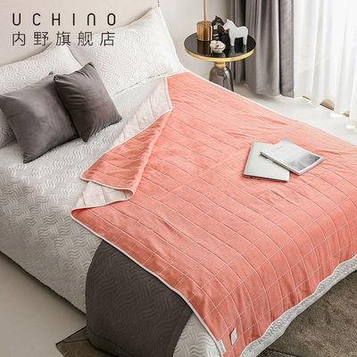 内野uchino 毛巾被纱布成人儿童夏凉被薄杯子纱布大盖毯空调被1条