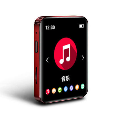 新款歌睿达T8全面屏MP3随身听学生MP4播放器蓝牙超薄MP5便携式插