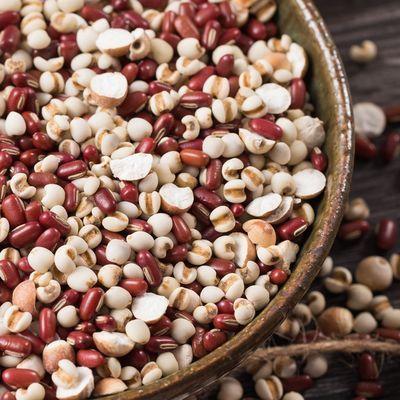 赤小豆1斤+薏米1斤 红豆赤豆薏仁米赤豆薏米薏米仁红小豆农家自产
