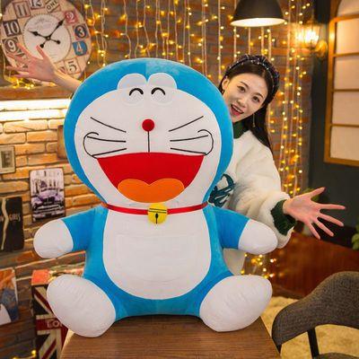 哆啦a梦公仔叮当猫玩偶机器猫毛绒玩具蓝胖子布娃娃生日礼物女孩