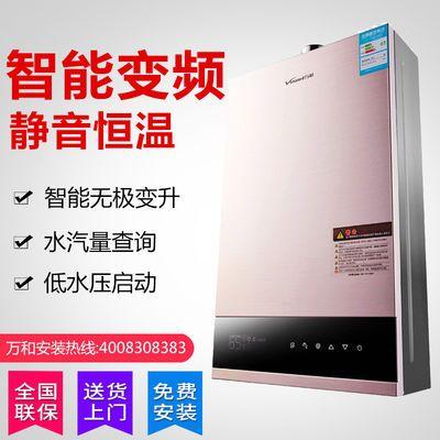 [变频包安装]万家乐燃气热水器天然气强排家用洗澡液化气11升16L