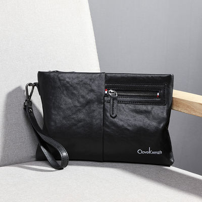 小CK正品男包男士手包真皮手拿包商务时尚纯皮男手拿包品牌信封包