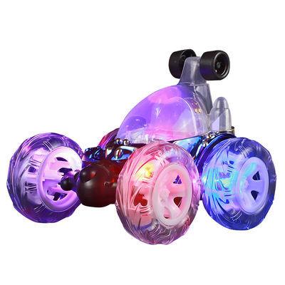 【4代升级】特技翻斗车翻滚车充电动越野遥控汽车儿童玩具车礼物