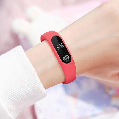 新款新品新一代 多功能智能手环 韩版学生运动表 触屏闹钟电子表