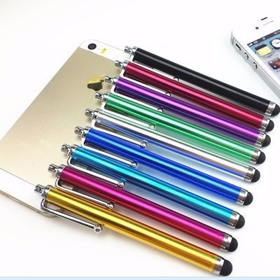 包邮5支装金属电容笔智能手机学生平板电脑通用触屏手写笔触控笔