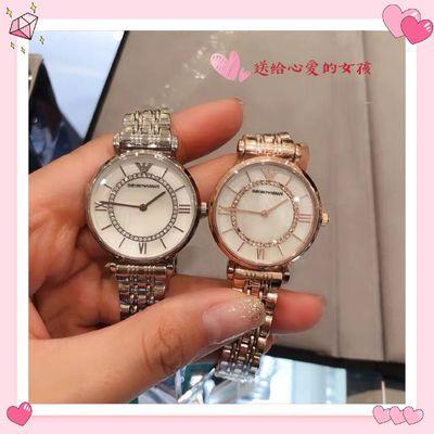 摩天轮镶钻手表时尚间金贝母珍珠简约钢带满天星女学生韩版AR1908